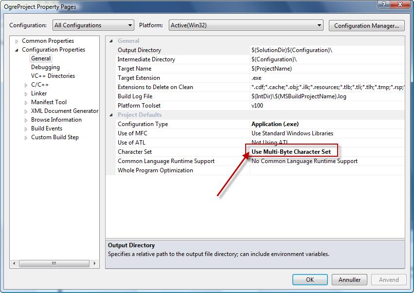 Setting Up An Application - Visual Studio | Ogre Wiki