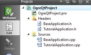 Setting Up An Application - QtCreator | Ogre Wiki