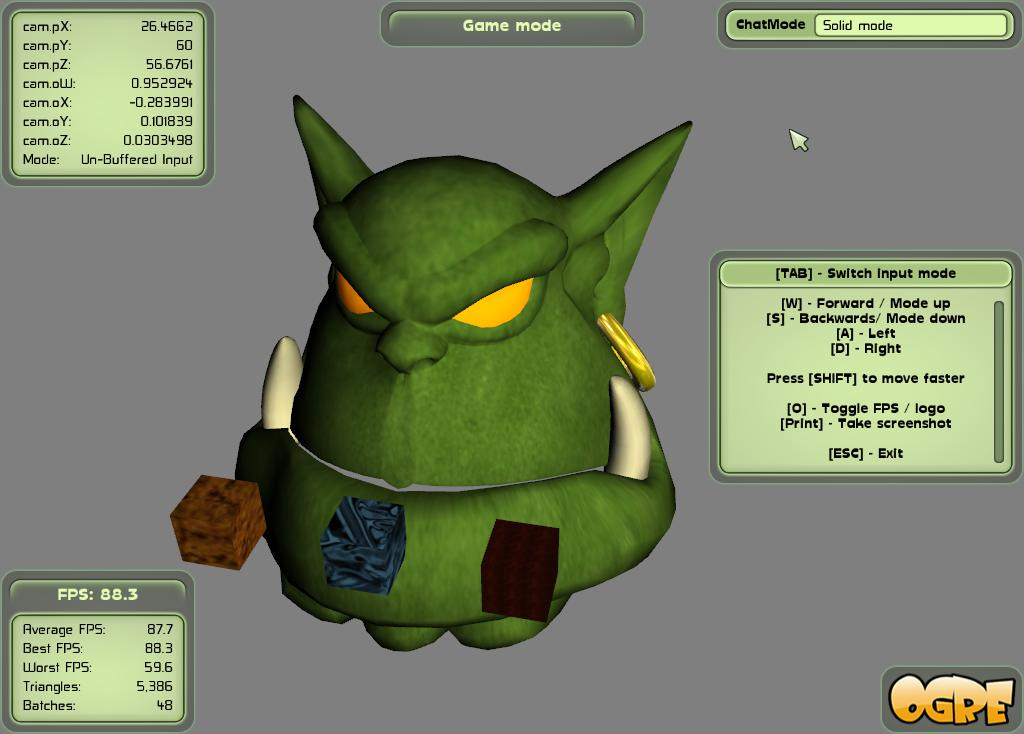 Advanced Ogre Framework - Game state